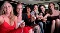 limousine service for birthday party
