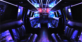 ford 650 limo interior
