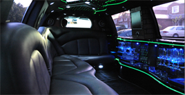 ford expedition limo interior
