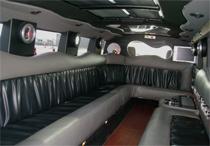 hummer limo inyerior